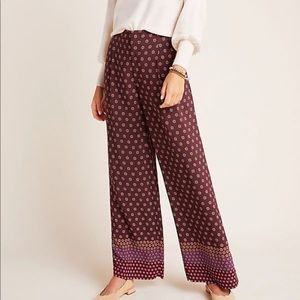 ANTHROPOLOGIE Marsden Wide Leg Pants